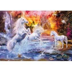 Clementoni Puzzle 1500 H.Q. Wild Unicorns 1220-31805 8005125318056
