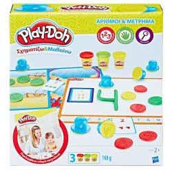 Hasbro Play-Doh Σχηματίζω Και Μαθαίνω: Αριθμοί Και Μέτρημα B3406 5010993535972