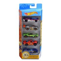 Mattel Hot Wheels 50th Anniversary Track Stars 5 Pack, 1:64 scale FWF98 887961673388