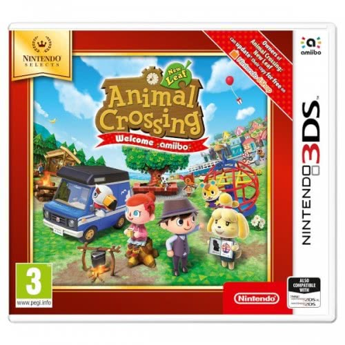 Nintendo 3DS Animal Crossing: New Leaf ( Selects)  045496477301