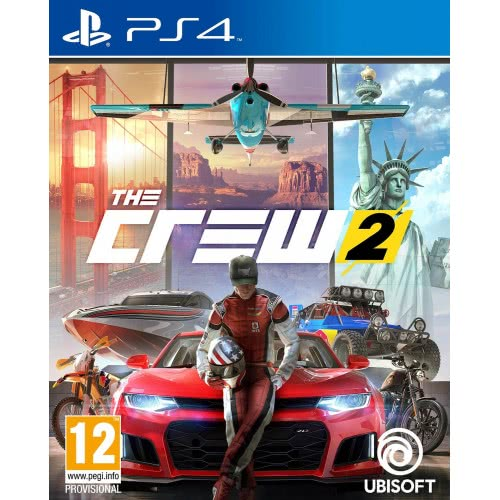 UBISOFT PS4 The Crew 2, Standard Edition  3307216024606