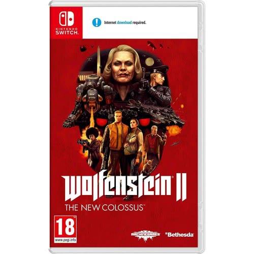 Bethesda Nintendo Switch Wolfenstein II: The New Colossus  045496422264