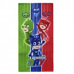 Loly Παιδική Πετσέτα Θαλάσσης PJ Masks-Πιτζαμοήρωες, 70X1x140cm 2200002776 8427934156863