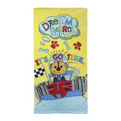 Cerda Beach Towel Paw Patrol Dream Patrol: Chase-R, It Is Go Time, 70X140cm 2200002773 8427934156832