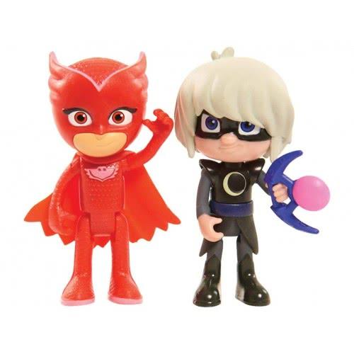 82fedaab1769 GIOCHI PREZIOSI PJ Masks  Basic Figure Light Up Owlette and Luna Girl