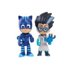 GIOCHI PREZIOSI PJ Masks-Πιτζαμοήρωες: Βασική Φιγούρα Light Up 2πλή Catboy and Romeo JPL24810 886144248115