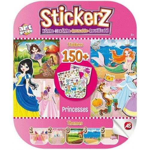 As company Stickerz Παιδικά Αυτοκόλλητα Κόλλα-Ξεκόλλα Οι Πριγκίπισσές μου 1090-08108 5203068081089