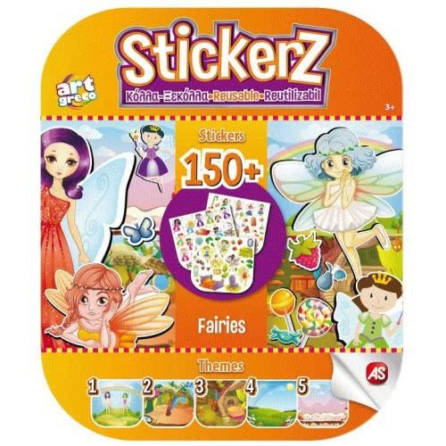 As company Stickerz Παιδικά Αυτοκόλλητα Κόλλα-Ξεκόλλα Οι Νεράιδες μου 1090-08112 5203068081126
