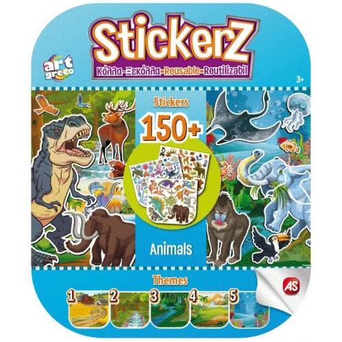 As company Stickerz Παιδικά Αυτοκόλλητα Κόλλα-Ξεκόλλα Τα Ζωάκια Μου 1090-08115 5203068081157
