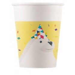 PROCOS Decorata Paper Cups Arctic (8 pieces) 089735 5201184897355