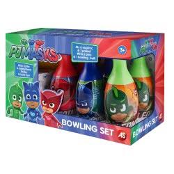As company PJ Masks - Πιτζαμοήρωες Σετ Bowling 5202-02045 5203068020453