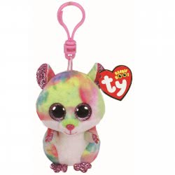 ty Beanie Babies Boos Κλιπ Χάμστερ 8,5Εκ Rodney The Pink Hamster Boo 1607-36558 008421365586
