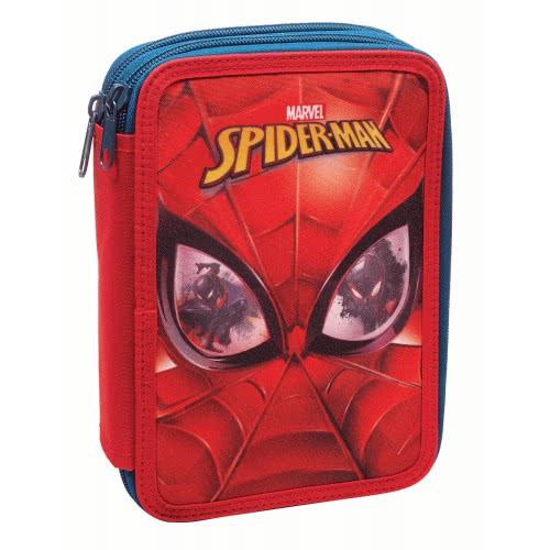 49b016315b GIM Spiderman Face Κασετίνα Διπλή Γεμάτη 337-73100 5204549109520