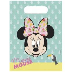 PROCOS Disney Minnie Tropical Σακούλες Δώρων (6 Τεμάχια) 089235 5201184892350