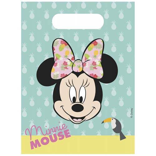 PROCOS Disney Minnie Tropical Party Bags (6 Pieces) 089235 5201184892350