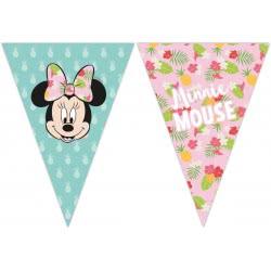 PROCOS Disney Minnie Tropical Γιρλάντα Τρίγωνη Πλαστική (9 σημαιάκια) 089234 5201184892343