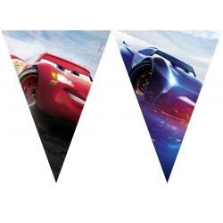 PROCOS Cars The Legend of the Track Γιρλάντα Τρίγωνη Πλαστική (9 Σημαιάκια) 089469 5201184894699