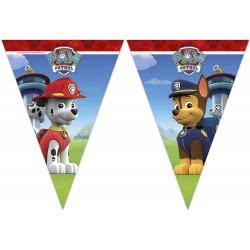 PROCOS Paw Patrol Lets Roll Γιρλάντα Τρίγωνη Πλαστική (9 Σημαιάκια) 089443 5201184894439