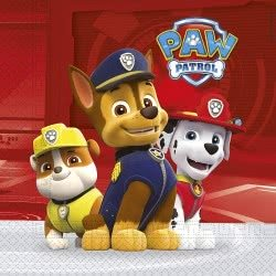 PROCOS Paw Patrol Ready For Action Χαρτοπετσέτες 33x33 (20τεμάχια) 089777 5201184897775