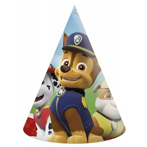 PROCOS Paw Patrol Lets Roll Καπέλα Πάρτυ (6 τεμάχια) 089442 5201184894422