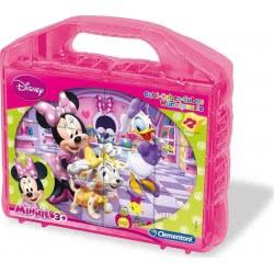 Clementoni Παζλ Κύβοι 12 Disney Minnie Mouse 1100-41171 8005125411719
