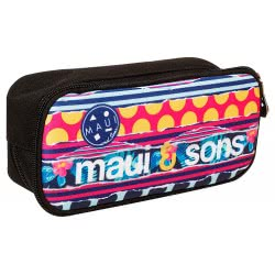 Maui and sons Back Me Up  Polka Pencil Case Oval 339-89141 5204549111813