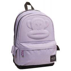 GIM Back Me Up School Backbag Multipack Paul Frank Eva, Purple 346-56034 5204549111950
