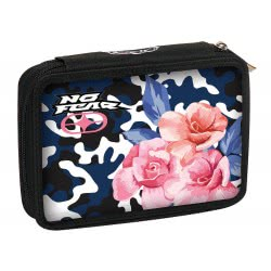 NO FEAR Back Me Up  Army Flower Pencil Case Double 347-15100 5204549112001