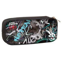 NO FEAR Back Me Up Street Graffiti Κασετίνα Βαρελάκι Οβάλ 347-41141 5204549112186