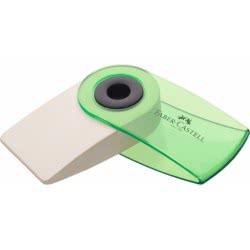 Faber-Castell Γόμα Mini Sleeve ημιδιάφανη 182412 9555684642226