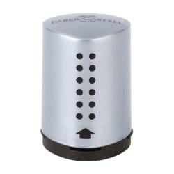 Faber-Castell Ξύστρα mini grip silver 183700 4005401837008