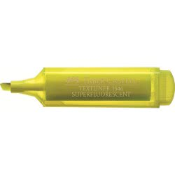Faber-Castell Marker Textliner Yellow 154612 4005401546078