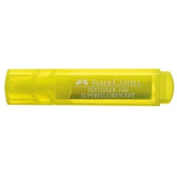 Faber-Castell Μαρκαδόρος Textliner υπογραμμίσεως Κίτρινος 154612 4005401546078