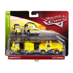 Mattel Disney/Pixar Cars 3 Turbo Bullock And John Lassetire Pack Of 2 DXV99 / FLH66 887961558524
