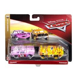 Mattel Disney/Pixar Cars 3 Tailgate and Pushover Αυτοκινητάκια Σετ των 2 DXV99 / FLH65 887961558586
