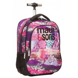 Maui and sons Back Me Up Trolley Backbag Maui Follow The Sun 339-90074 5204549111837