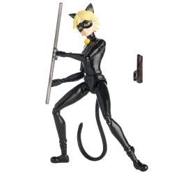 GIOCHI PREZIOSI Miraculous Ladybug Basic Doll 14Cm - Volpina, Puppeteer, Ladybug, Cat Noir 39720Q 3296580397204