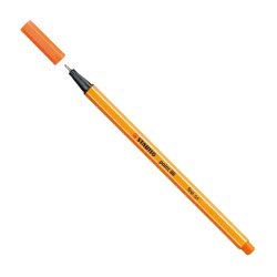 STABILO Fineliner Point Μαρκαδόρος Ακίδας 0,4mm 88/30 Πορτοκαλί Pal Vermillion 88/30 4006381493123