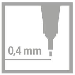 STABILO Fineliner Point Μαρκαδόρος Ακίδας 0,4mm 88/22 Μπλε 88/22 4006381186445