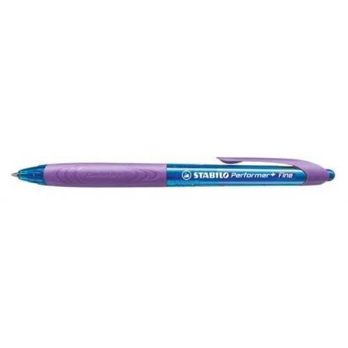 STABILO Στυλό Performer + Fine Μπλε Γραφής - Μωβ με Μπλε 328/1-41-3 9556091158232