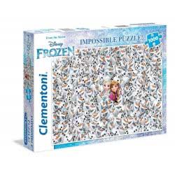 Clementoni Παζλ 1000τεμ. Impossible Disney Frozen 1260-39360 8005125393602