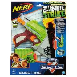 Hasbro Nerf Zombie Strike Sidestrike Blaster A6557 5010994767716