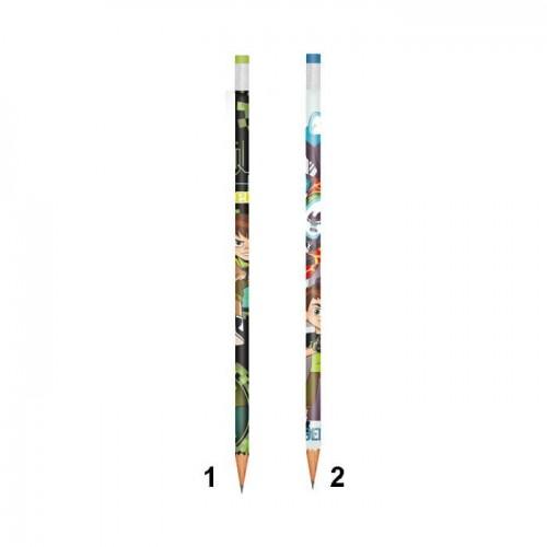 Diakakis imports Ben 10 Μολύβι Με Σβήστρα - 2 Χρώματα 500223 5205698259142