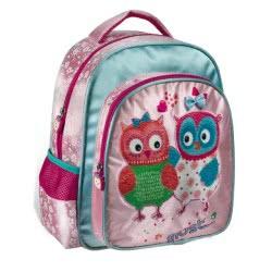 MUST Owl Kindergarten Backpack Owls Pink 579368 5205698244278
