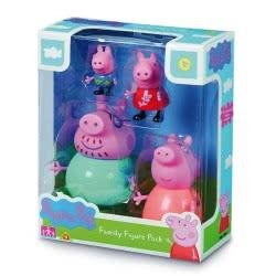 GIOCHI PREZIOSI Peppa Pig Η Οικογένεια της Πέππα, 4 Φιγούρες PPC27000 8056379048275