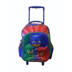 Diakakis imports PJ Masks - Πιτζαμοήρωες Σακίδιο Τρόλλεϋ 3D 32X18x43 484050 5205698244186