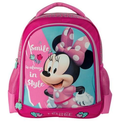 c06b0d9438 Diakakis imports Minnie Mouse Τσάντα Πλάτης Νηπιαγωγείου Ροζ 27x10x31cm  561936 5205698242335
