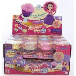 Just toys Cup Cake Surprise Mini Glitter: Μικρές Πριγκίπισσες με Glitter, Σειρά 2 - 12 Σχέδια 1109 8886457611097