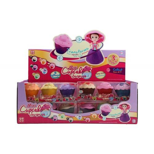 Just toys Cup Cake Surprise Mini Glitter Μικρές Πριγκίπισσες με Glitter, 3τμχ - 4 Σχέδια 1116 8886457611165
