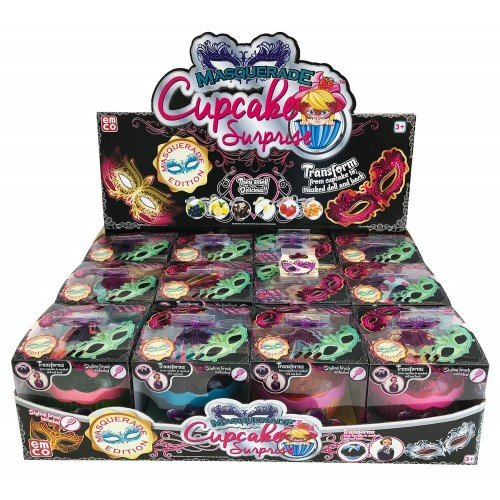 45fbef4bf8a Just toys Cup Cake Surprise Masquerade Edition - 12 Designs 1132 ...